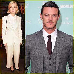 Cate Blanchett & Luke Evans Help Raise £500,000 At Old Vic Summer Gala!