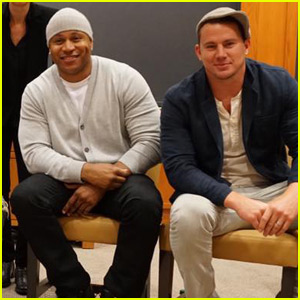 Channing Tatum & LL Cool J Are Heading to Harvard!