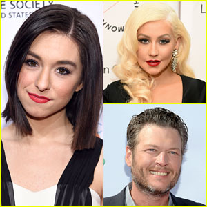 Christina Aguilera & Blake Shelton React to 'The Voice' Contestant Christina Grimmie's Death