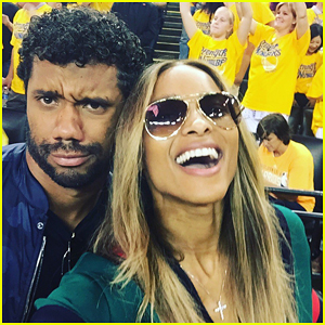 Ciara & Russell Wilson Couple Up At 2016 NBA Finals Game!