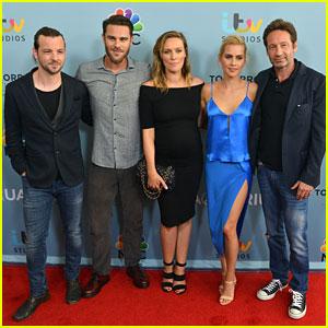David Duchovny & Claire Holt Premiere New Season of 'Aquarius'
