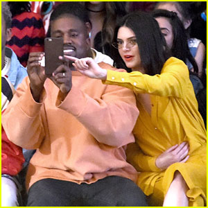 Kendall Jenner Shows Off Shorter Hair at Tyler The Creator's Fashion Show with Kanye West