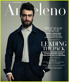 Daniel Radcliffe Talks Child Stardom in 'Modern Luxury' Feature