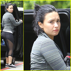 Demi Lovato Steps Out After Split from Wilmer Valderrama