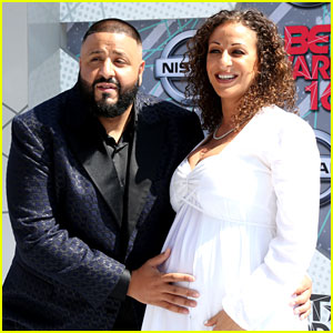 DJ Khaled Brings Pregnant Girlfriend to BET Awards 2016!