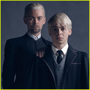 Harry Potter's Draco Malfoy & Son Scorpius Star in New 'Cursed Child' Photos!