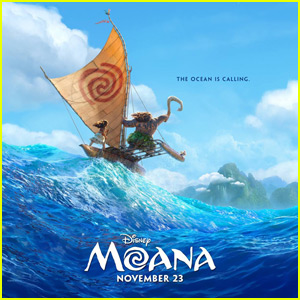 Dwayne Johnson Shares First Poster for 'Moana'