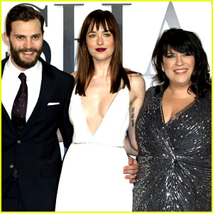 E.L. James Wishes Christian Grey a Happy Birthday with Hot New Jamie Dornan Photo!