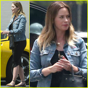 Emily Blunt Emerges After 'Mary Poppins' Casting News