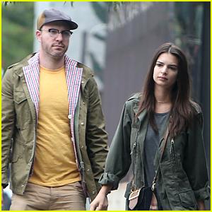 Emily Ratajkowski & Boyfriend Jeff Magid Match in Yellow