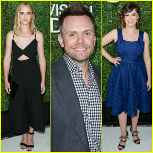 Emily Wickersham & Rachel Bloom Get Glam For CBS' Summer Soiree!