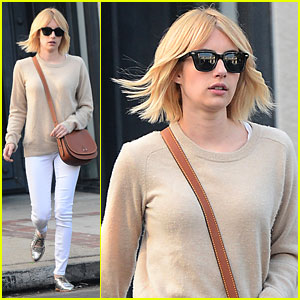 Emma Roberts Shows Off Short Hairstyle Ahead of 'Scream Queens' Season Two