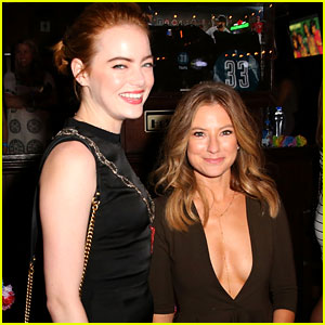 Emma Stone Supports Sugar Lyn Beard at 'Mike & Dave' Premiere