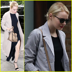 Emma Stone is Leggy & Gorgeous in New York City