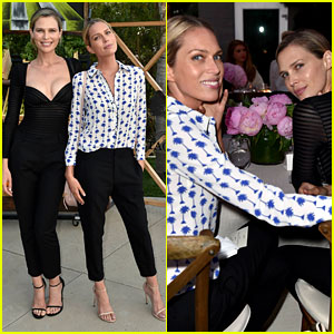 Erin & Sara Foster Look Super Chic at Just Jared & Vintage Grocers' Malibu Dinner!