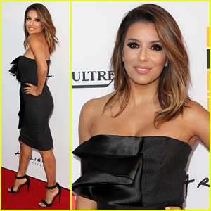 Eva Longoria Makes First Post-Wedding Appearance At 'Lowriders' Premiere!
