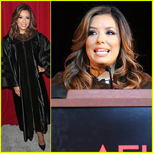 Eva Longoria Speaks at AFI Conservatory Commencement
