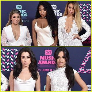 Fifth Harmony are a Vision in White at CMT Music Awards 2016