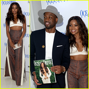 Gabrielle Union Celebrates Her 'Ocean Drive' Cover With Dwyane Wade