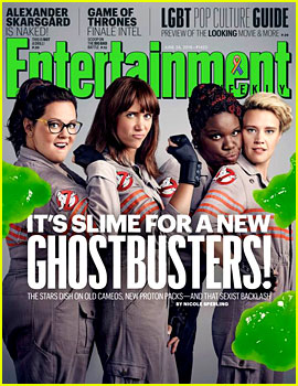 'Ghostbusters' Cast Brings On the Slime for 'EW' Cover