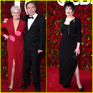 Glenn Close Supports Andrew Lloyd Webber at Tonys 2016!