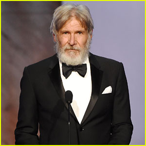 Harrison Ford Sports Bushy Beard at John Williams Tribute