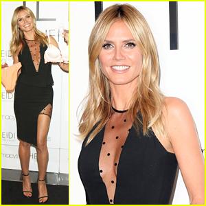 Heidi Klum Says Lingerie 'Enhances Your Beauty & Makes You Feel More Confident'