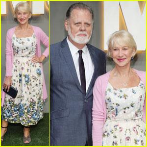Helen Mirren Brings Hubby to MOMA Garden Party in NYC