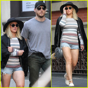 Hilary Duff Steps Out With Trainer Jason Walsh in NYC