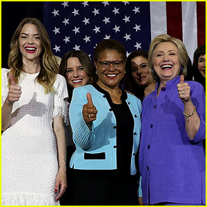 Hillary Clinton Gets Celeb Support at Women for Hillary Event!