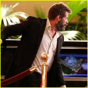 Hugh Jackman Dodges Bullets for 'Wolverine 3' Scene