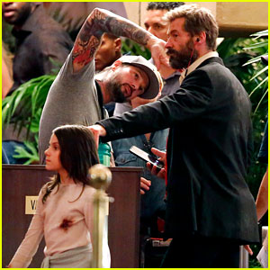 Hugh Jackman Films More 'Wolverine 3' Scenes with Young Co-Star