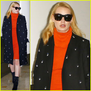 Iggy Azalea Touches Down in Sydney for 'The X Factor'