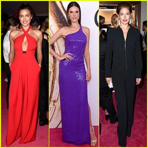 Irina Shayk, Alessandra Ambrosio, & Doutzen Kroes Are Hot Supermodels at CFDA Fashion Awards 2016!