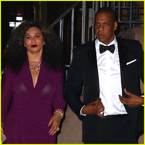 Jay Z & Tina Knowles Support Beyonce at CFDA Fashion Awards