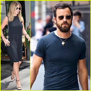 Jennifer Aniston Wears Cute LBD for Summer Day in New York