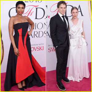 Performers Jennifer Hudson & Michael C. Hall Arrive at CFDA 2016