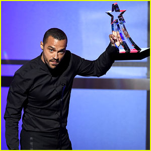 Jesse Williams Is the Humanitarian Winner at BET Awards 2016