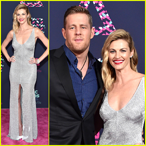 J.J. Watt & Erin Andrews Co-Host CMT Awards 2016