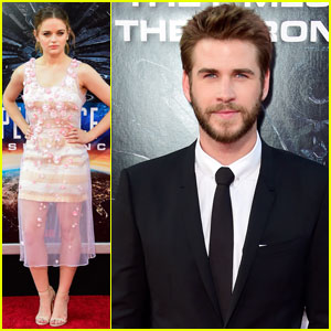 Liam Hemsworth Premieres 'Independence Day: Resurgence' With Joey King