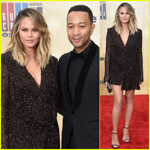 John Legend & Chrissy Teigen Couple Up for Guys' Choice 2016