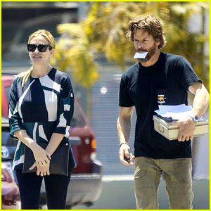 Julia Roberts & Husband Danny Moder Spotted in Rare Outing