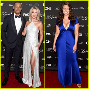 Julianne Hough & Terrence J Arrive for Miss USA 2016 Host Duties!