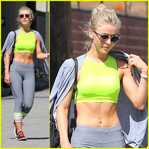Julianne Hough Hits The Gym After 'Grease' Mini-Reunion