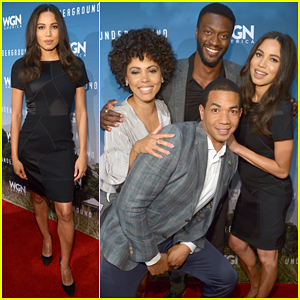 Jurnee Smollett-Bell Joins 'Underground' Cast At Special Screening After Pregnancy Announcement!