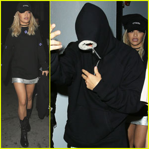 Justin Bieber & Rita Ora Party Together at Warwick Nightclub