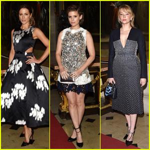 Kate Beckinsale & Kate Mara Attend Dior Cruise Fashion Show