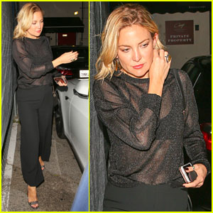 Kate Hudson Steps Out for Dinner After Vacationing with Amy Schumer!