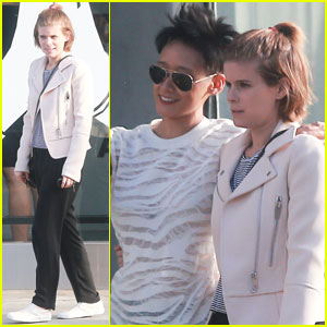 Kate Mara Grabs Lunch With a Gal Pal in West Hollywood
