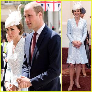 Kate Middleton & Royal Family Help Celebrate Queen Elizabeth's 90th Birthday